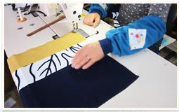 縫製、仕上げ作業