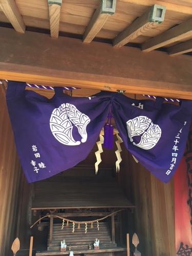 神社やお稲荷さんに掲げられる奉納幕を作成させていただきました。昔な・・・